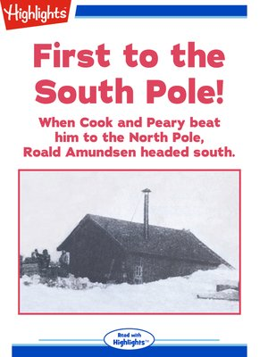 cover image of First to the South Pole!