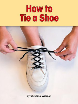 cover image of How to Tie a Shoe