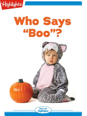"cover image of Who Says ""Boo""?"