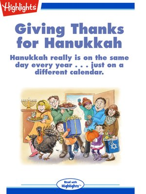 cover image of Giving Thanks for Hanukkah