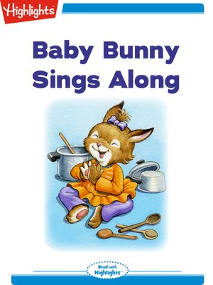 cover image of Baby Bunny Sings Along