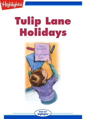 cover image of Tulip Lane Holidays