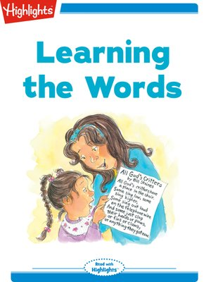 cover image of Learning the Words