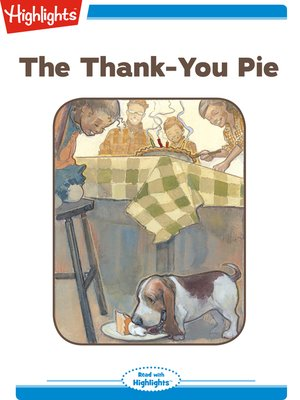 cover image of The Thank-You Pie