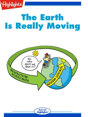 cover image of The Earth Is Really Moving