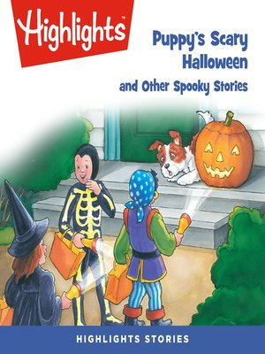 cover image of Puppy's Scary Halloween and Other Spooky Stories