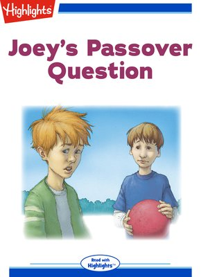 cover image of Joey's Passover Question