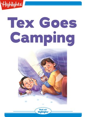 cover image of Tex Goes Camping