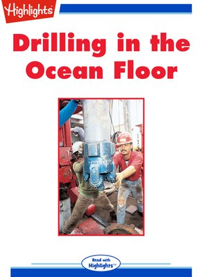 cover image of Drilling in the Ocean Floor