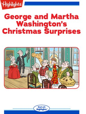 cover image of George and Martha Washington's Christmas Surprises