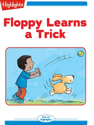 cover image of Floppy Learns a Trick