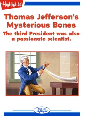 cover image of Thomas Jefferson's Mysterious Bones