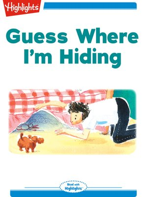 cover image of Guess Where I'm Hiding