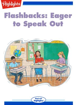 cover image of Flashbacks: Eager to Speak Out