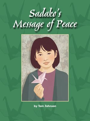 cover image of Sadako's Message of Peace