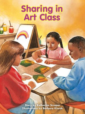 cover image of Sharing in Art Class