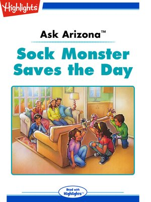 cover image of Ask Arizona: Sock Monster Saves the Day