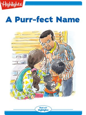 cover image of A Purr-fect Name