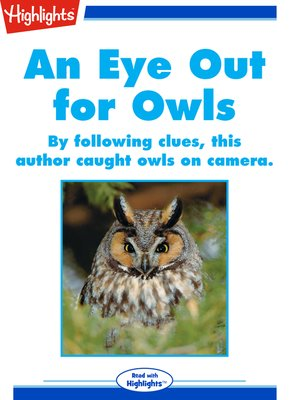 cover image of An Eye Out for Owls