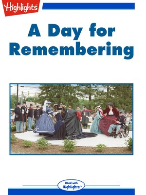 cover image of A Day for Remembering