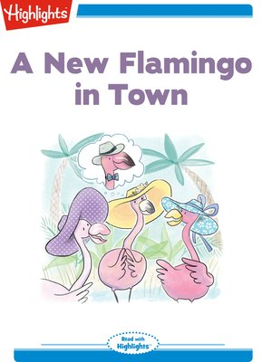 cover image of A New Flamingo in Town