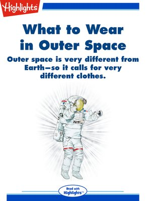 cover image of What to Wear in Outer Space