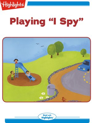 cover image of Playing I Spy