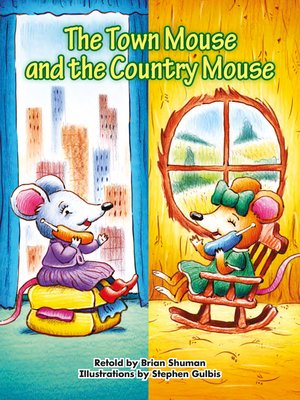 cover image of The Town Mouse and the Country Mouse