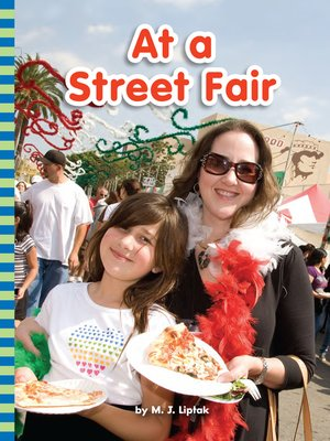 cover image of At a Street Fair