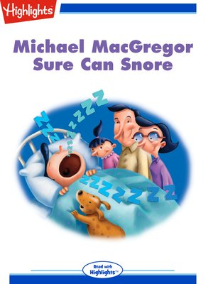 cover image of Michael MacGregor Sure Can Snore