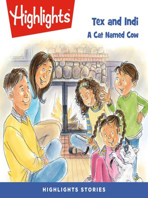 cover image of Tex and Indi: A Cat Named Cow