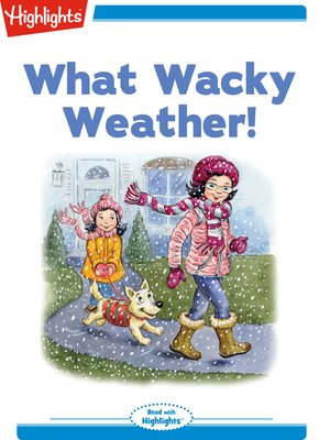 cover image of What Wacky Weather