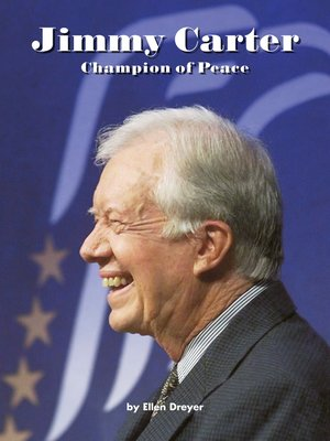 cover image of Jimmy Carter Champion of Peace