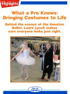 cover image of Bringing Costumes to Life