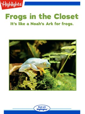 cover image of Frogs in the Closet
