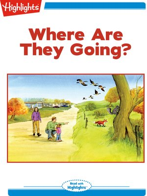 cover image of Where Are They Going?