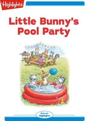 cover image of Little Bunny's Pool Party