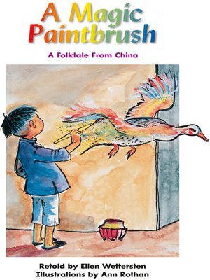 cover image of A Magic Paintbrush: A Folktale From China