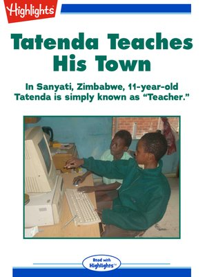 cover image of Tatenda Teaches His Town
