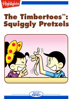 cover image of Squiggly Pretzels