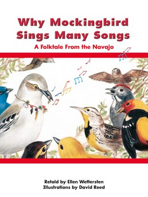 cover image of Why Mockingbird Sings Many Songs: A Folktale From the Navajo