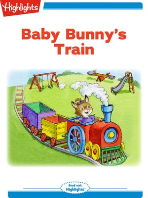 cover image of Baby Bunny's Train