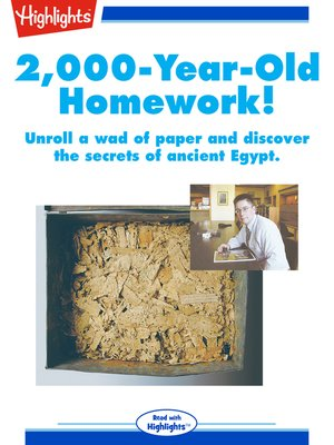 cover image of 2000 Year Old Homework!