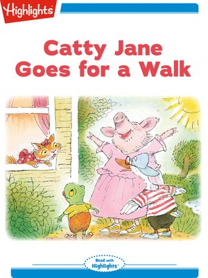 cover image of Catty Jane Goes for a Walk