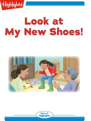 cover image of Look at My New Shoes!
