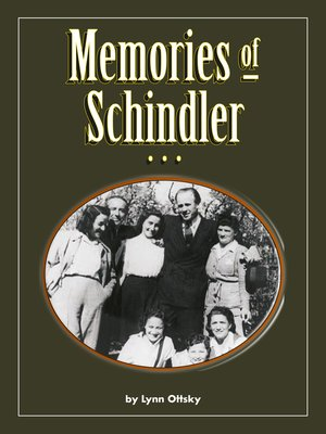 cover image of Memories of Schindler