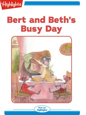 cover image of Bert and Beth's Busy Day