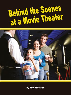 cover image of Behind the Scenes at a Movie Theater