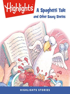 cover image of A Spaghetti Tale and Other Saucy Stories