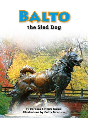 cover image of Balto the Sled Dog